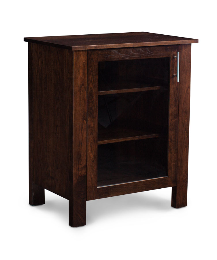 East Village Media Storage Cabinet Hidden