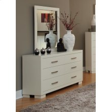 Jessica White Dresser Mirror