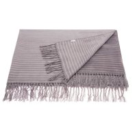 "Throw Sz007 Steel Grey 50"" X 70"" Throw Blankets Product Image"