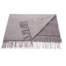 "Throw Sz007 Steel Grey 50"" X 70"" Throw Blankets"
