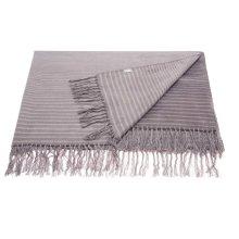 """Throw Sz007 Steel Grey 50"""" X 70"""" Throw Blankets"""