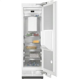 MieleF 2661 Vi MasterCool freezer For high-end design and technology on a large scale.