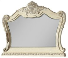 Monaco Antique White Mirror - 58''L x 4''D x 46''H