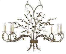 Raintree Oval Chandelier - 33h x 43.375w x 18d