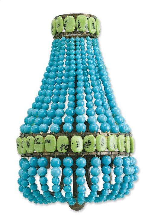 Lana Turquoise Wall Sconce