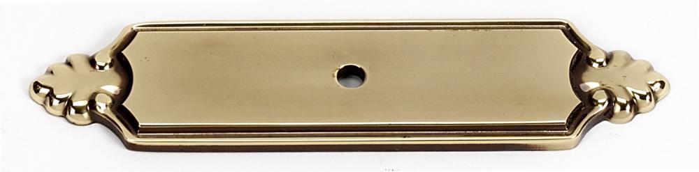 Bella Backplate A1454 - Polished Antique