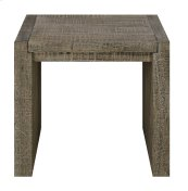 Emerald Home Cubix Square End Table Pewter T273-01