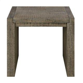 Cubix Square End Table