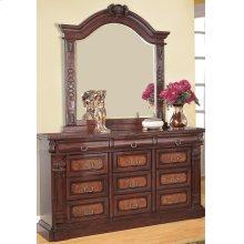 Grand Prado Cappuccino Dresser Mirror