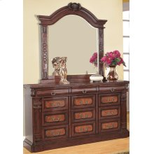 Grand Prado Cappuccino Dresser Mirror