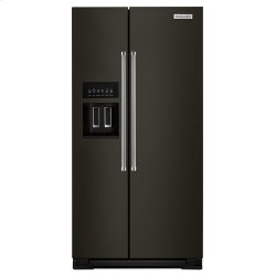 22.6 cu ft. Counter-Depth Side-by-Side Refrigerator - Stainless Steel with PrintShield™ Finish