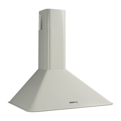 "Broan 290 CFM, 35-7/16"" Wall-Mounted Chimney Hood in White"