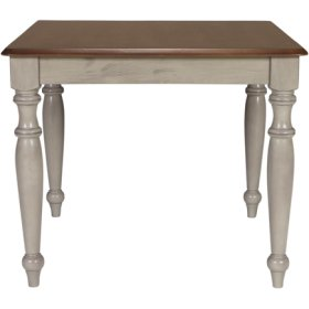 Solid Top Table Espresso & Willow