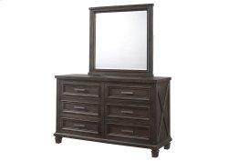 1046 Cimarron Rustic Java Valspar Dresser