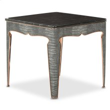 Carson End Table Rose Gold