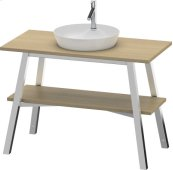 Vanity Unit Floorstanding, White Beech (solid Wood)