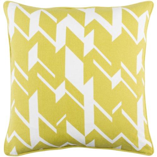 "Inga INGA-7024 18"" x 18"" Pillow Shell with Polyester Insert"