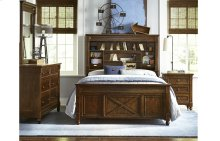 Big Sur by Wendy Bellissimo Vista Point Bookcase Bed Full