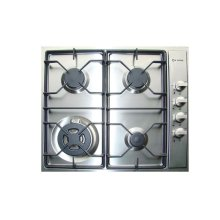 "Stainless Steel 24"" Gas 4 - Burner Side Control"