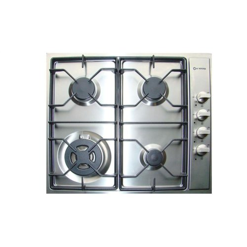 """Stainless Steel 24"""" Gas 4 - Burner Side Control"""