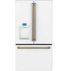 Cafe Refrigeration Handle Kit - Brushed Bronze