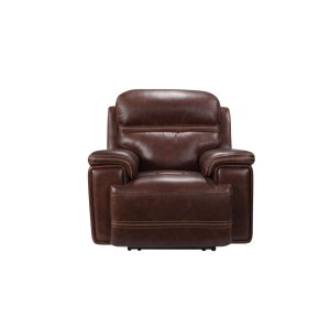 Leather Italia Usa Eh2394 Fresno Pwr Chair Pwr Hdrst 1004lv Brown