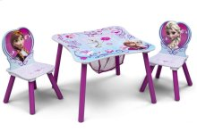Frozen Table & Chair Set with Storage - Style 1