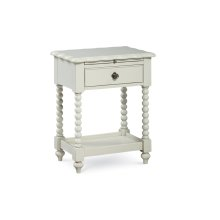 Inspirations by Wendy Bellissimo - Morning Mist Boutique Night Stand