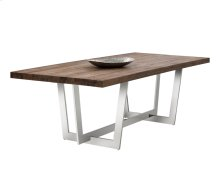 Ezra Dining Table - Brown