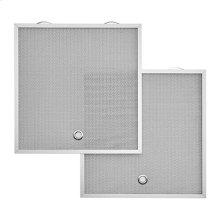 "Type C2 Aluminum Micro Mesh Grease Filter 15.725"" x 13.875"" x 0.375"""