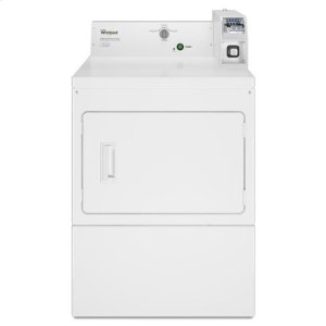 WhirlpoolWhirlpool® Commercial Electric Super-Capacity Dryer, Coin-Slide and Coin-Box - White
