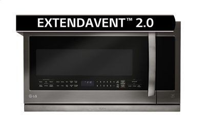 LG Black Stainless Steel Series 2.2 cu.ft. Over-the-Range Microwave Oven Product Image