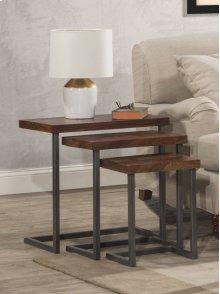 Emerson Nesting Tables - Set of 3 - Natural Sheesham