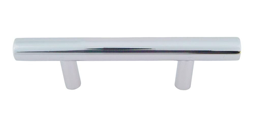 Linea Rail Pull 3 Inch (c-c) - Polished Chrome
