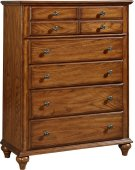 Hayden Place Drawer Chest, Light-Cherry Finish Product Image