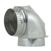 """DuraSafe 4"""" Dryer Elbow Vent Connector Product Image"""