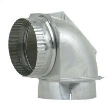 "DuraSafe 4"" Dryer Elbow Vent Connector"