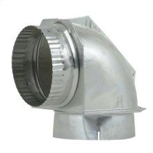 "DuraSafe 4"" Dryer Elbow Vent Connector"