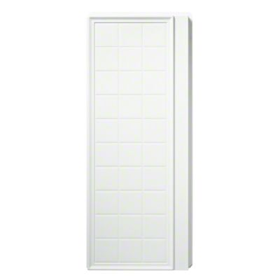 "Ensemble™, Series 7210, 35-1/4"" x 72-1/2"" Tile Alcove Shower - End Wall Set - White"