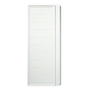 "Ensemble™, Series 7210, 35-1/4"" x 72-1/2"" Tile Alcove Shower - End Wall Set - White Product Image"