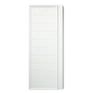 "Ensemble™, Series 7210, 35-1/4"" x 72-1/2"" Tile Alcove Shower - End Wall Set - White Product Image"