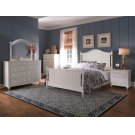 Hayden Place - White, Panel Bed, Queen Product Image