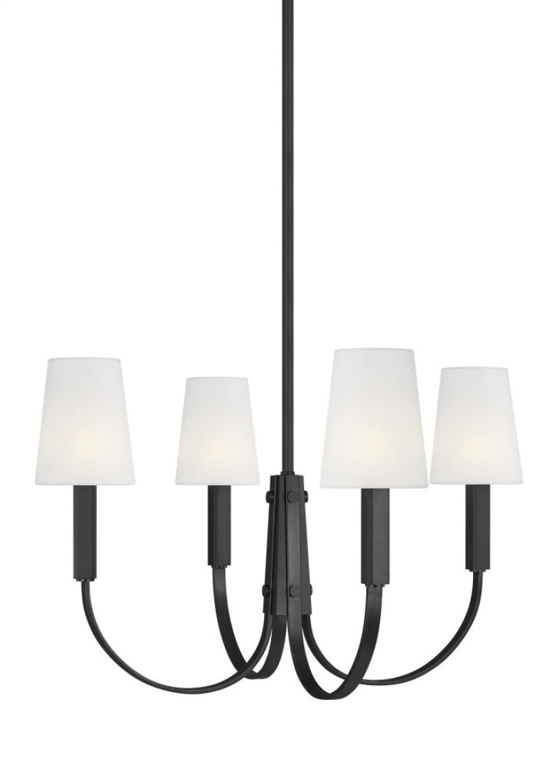 Tc1084ai in by feiss in evansville in 4 light chandelier