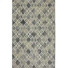 Potterton Ash Grey Rectangle 3ft 6in X 5ft 6in