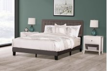La Croix Bed In One - King - Stone