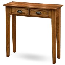 Bin Pull Two Drawer Console #9013