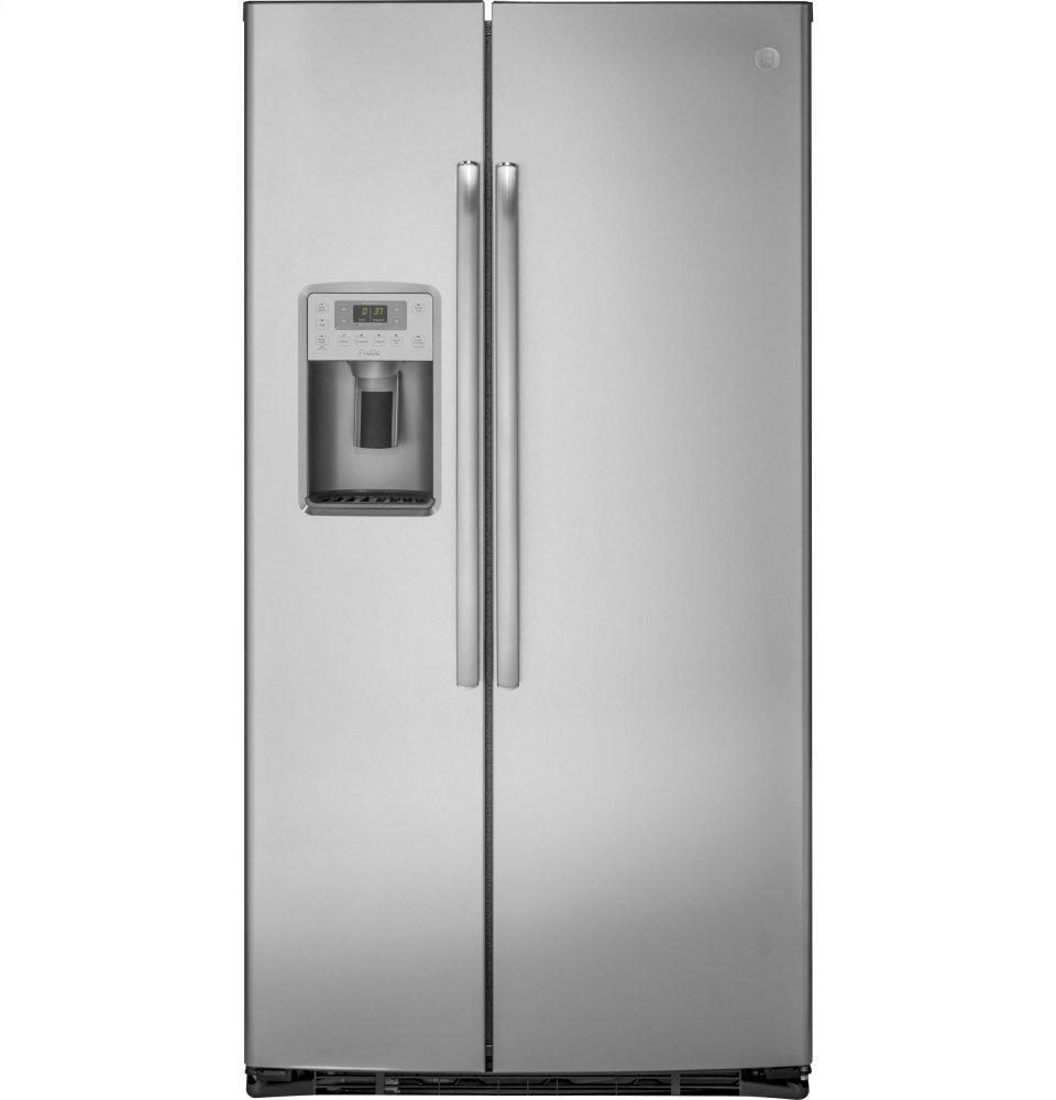 GE ProfileSeries 21.9 Cu. Ft. Counter-Depth Side-By-Side Refrigerator