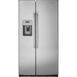 GE ProfileGE PROFILEGE Profile(TM) Series 21.9 Cu. Ft. Counter-Depth Side-By-Side Refrigerator