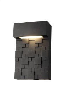LED OUTDOOR WALL, 3000K, 120°, CRI80, ETL, 10.5W, 52.5W EQUIVALENT, 50000HRS, LM800, NON-DIMMABLE, 5 YEARS WARRANTY, INPUT VOLTAGE 120V, BLACK