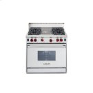 "36"" Gas Range - 4 burners, Charbroiler Product Image"